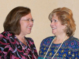 Founders Rhonda Bartlett and Janey Moores